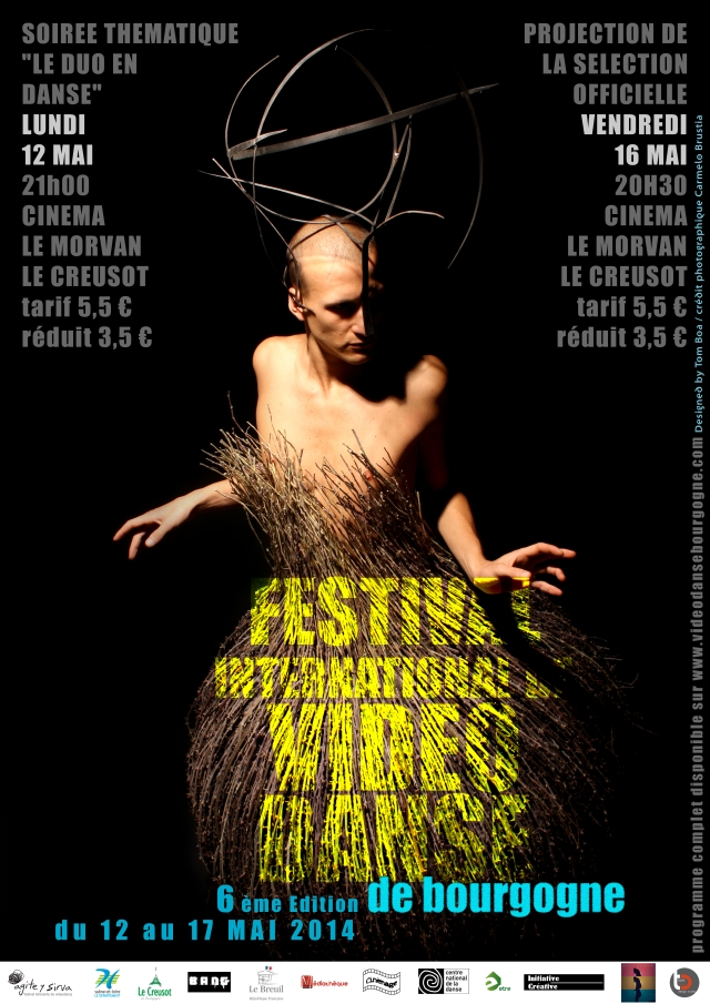 Affiche Festival Video Danse 2014 DEF-2
